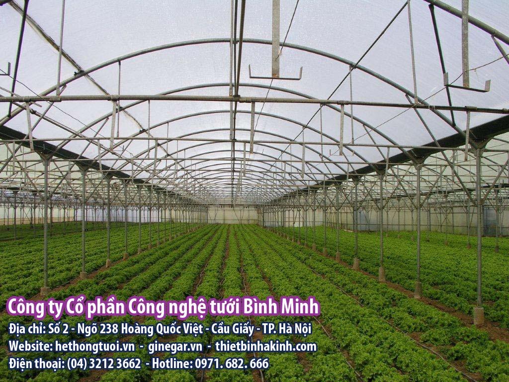 4 Loại nhà Màng được thiết kế phổ biến tại Việt Nam