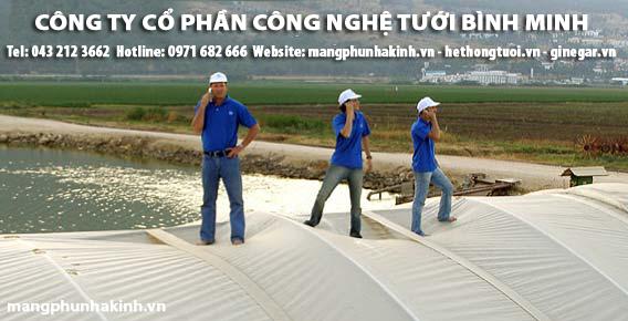 Màng phủ nhà kính – Binh Minh, Màng che phủ nhà kính nông nghiệp