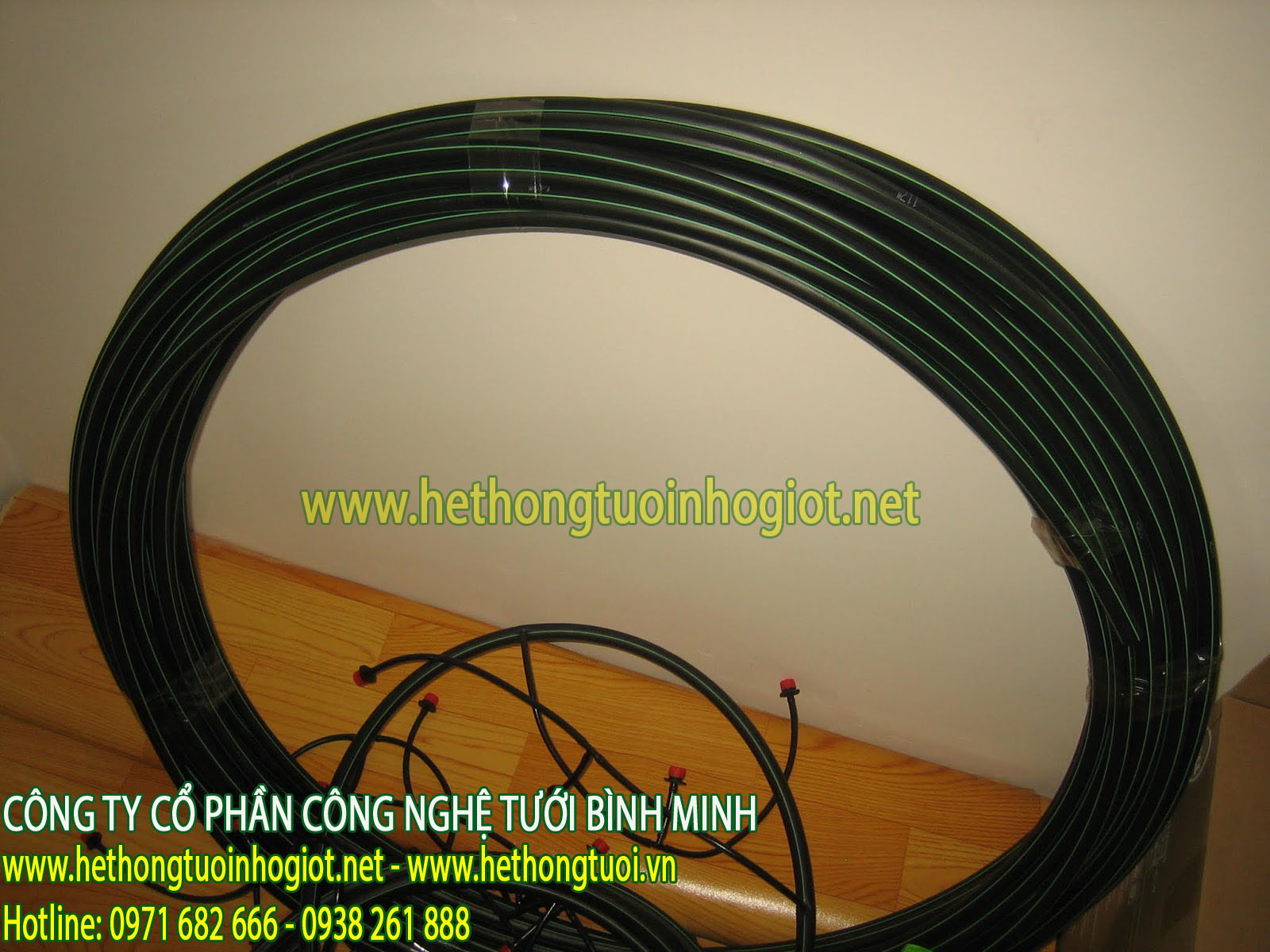 Hướng dẫn chọn cỡ ống tưới phù hợp